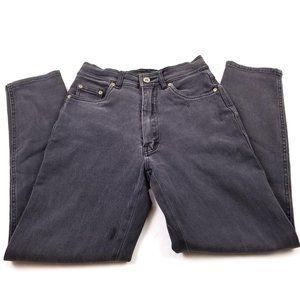 Vintage Bill Blass High Waisted Black Skinny Jeans